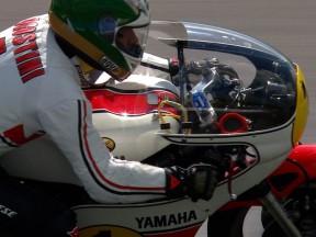 Agostini, de nuevo sobre dos ruedas