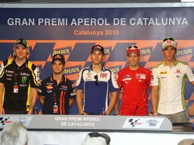 Tórrida Catalunha dá as boas-vindas ao MotoGP