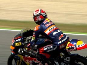 Márquez secures third straight pole