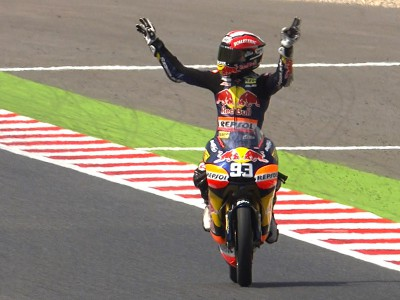Márquez makes it four in a row at Catalunya