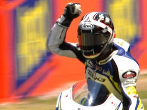 Takahashi wins after Iannone takes penalty