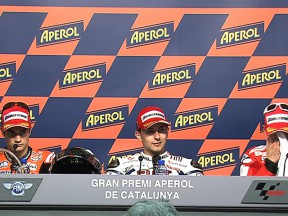 La conférence de presse de la course de Montmeló