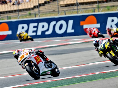 Brave ride from Melandri for ninth