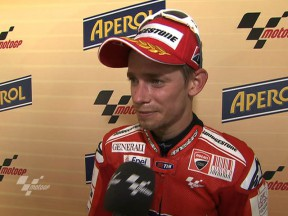 "Stoner: ""We had the pace to push for the lead"""