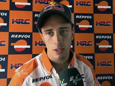 Dovizioso deluso dopo il GP di Montmeló