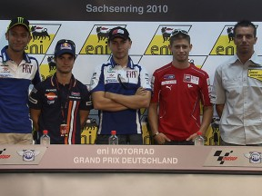 Sachsenring press conference starts anticipated weekend