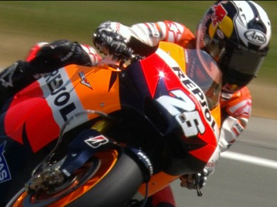 Pedrosa fastest and Rossi competitive in Sachsenring practice