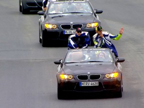 BMW provide pre-race thrills at Sachsenring