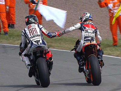 Faultless ride delivers Pedrosa German victory