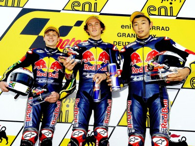 Double win for Gagne in Red Bull Rookies Cup