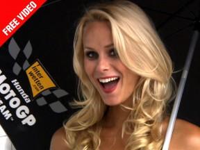Gridgirls: eni Motorrad Grand Prix Deutschland