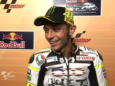 Rossi rewarded after a demanding weekend