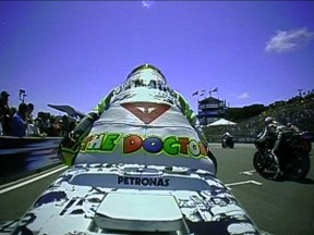 Valentino Rossi Gyroscopic OnBoard