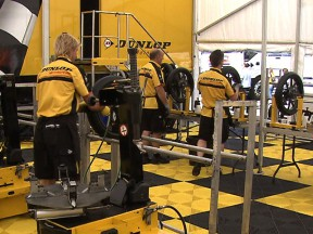 The Moto2 tyre process with Dunlop