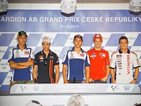 Cardion ab Grand Prix Ceské Republiky: la conferenza stampa
