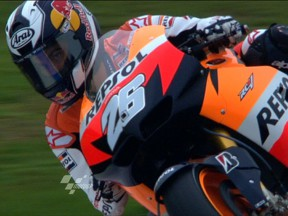 Pedrosa lays down challenge in second Brno session