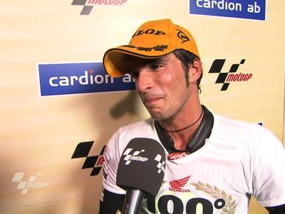 Elías fait un pas de plus vers le titre avec le 100ème podium de Gresini