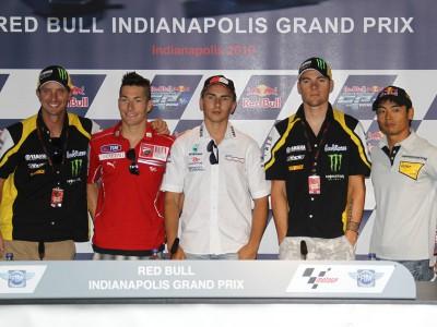 Red Bull Indianapolis Grand Prix: Lorenzo protagonista della conferenza stampa
