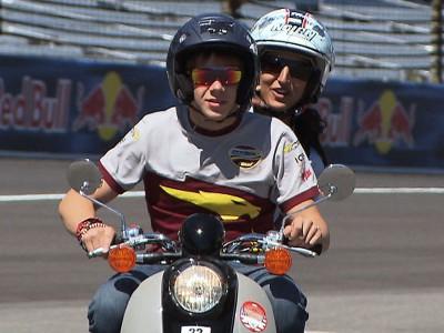 Eine Runde in Indy mit Scott Redding