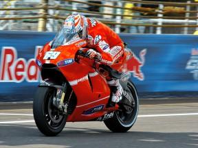 Ducati Duo unzufrieden in Indy