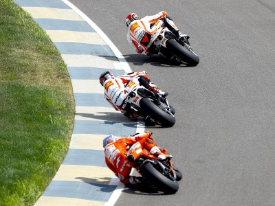 Contrasting fortunes for Simoncelli and Melandri at Indy