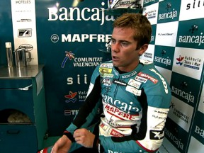 Terol starts Misano weekend at the front