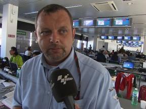 Ian Wheeler takes stock of day one at Misano