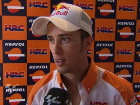 Repsol Honda one-two completed by Dovizioso in practice