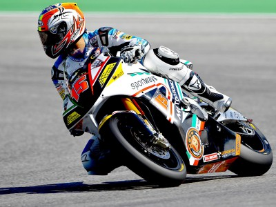 De Angelis tops Sunday morning Moto2 session