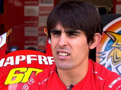 Julián Simón's Moto2 experience