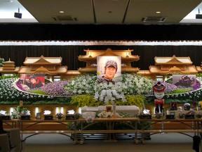 L'ultimo saluto a Tomizawa