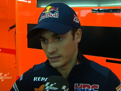 Productive first day leaves Pedrosa happy