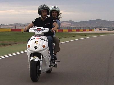 Un giro del circuito di Aragon con Kenny Noyes