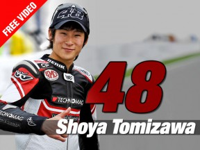 Aragón abbraccia Shoya Tomizawa