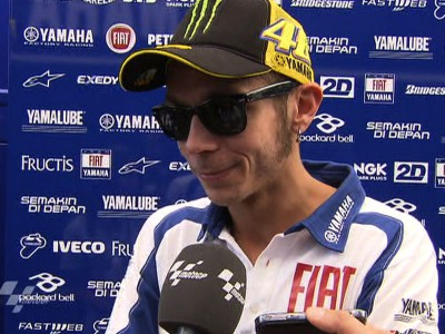 """Rossi rounds off """"problematic weekend"""" with sixth"""
