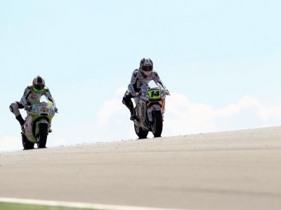 De Puniet escapes further injury in Aragón fall