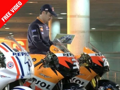 Birthday celebrations amid title battle for Pedrosa