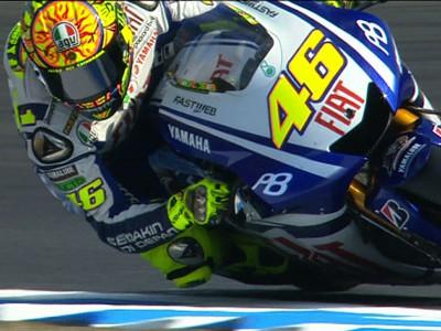 Rossi beginnt in Japan als Schnellster