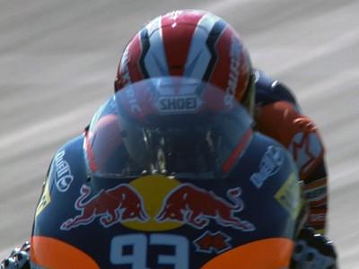 Márquez aprieta el paso en la FP2