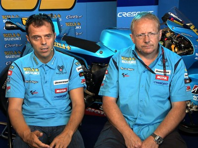 MotoGP feature: Loris Capirossi and Stuart Shenton