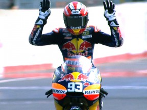 Márquez s'impose depuis la pole au Japon