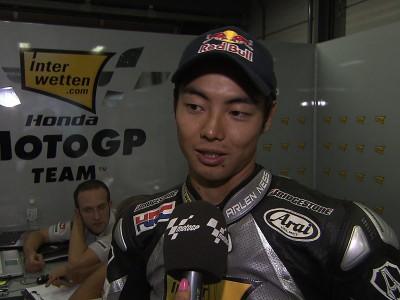 Aoyama se lleva una buena recompensa en el GP de casa
