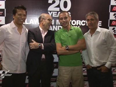 Celebrando 20 años de MotoGP en Malasia