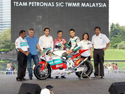 Petronas svela il prototipo Moto2 a Sepang