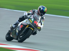 De Angelis tops interrupted first Sepang session