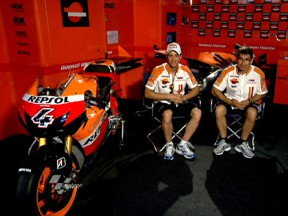 Sepang and the RC212V with Dovizioso