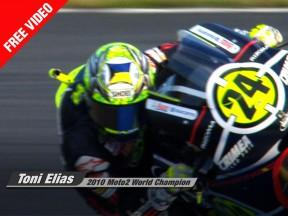 Toni Elías : Champion du Monde Moto2 2010