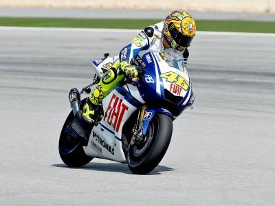 Rossi recupera terreno en el warm up de Malasia