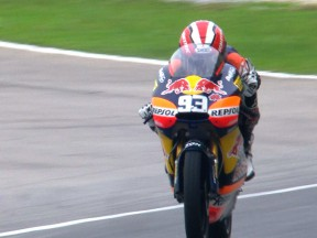 決勝レース:M.マルケス、ポイントリーダーに再浮上