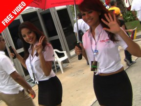 Paddock Girls at Sepang